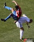图文:斯洛伐克VS巴拉圭 博内特压倒对手