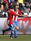 图文:斯洛伐克0-2巴拉圭 贝拉兴奋庆祝