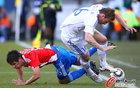 图文:斯洛伐克VS巴拉圭 卡塞雷斯羁绊对手
