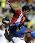 图文:斯洛伐克VS巴拉圭 博内特力压对手