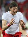 图文:智利1-0瑞士 胡格尔很懊恼