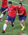 图文:智利1-0瑞士 冈萨雷斯奔跑