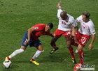 图文:智利1-0瑞士 桑切斯被严防