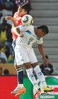 图文:洪都拉斯0-1智利 努涅斯十分努力