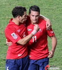 图文:智利1-0瑞士 桑切斯与冈萨雷斯