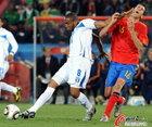 图文:西班牙VS洪都拉斯 帕拉西奥斯甩开布斯克茨