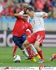图文:智利VS瑞士 冯贝尔根防守积极