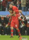 图文:葡萄牙7-0朝鲜 西芒庆祝进球