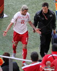 贝赫拉米故意击打对方两名球员被直接红牌罚下