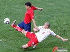 图文:智利VS瑞士 因勒飞铲