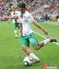 图文:科特迪瓦VS葡萄牙 达尼左脚起球