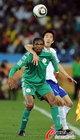 图文:尼日利亚2:2韩国 卡努拿球