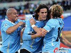 墨西哥VS乌拉圭 苏亚雷斯进球庆祝