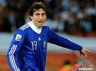 图文:希腊0-2阿根廷 米利托球运不佳