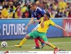 图文:法国1-2南非 亨利被皮纳尔严防