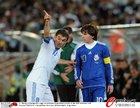 图文:希腊VS阿根廷 卡拉古尼斯十分不满