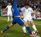 图文:希腊VS阿根廷 卡拉古尼斯被严防