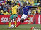 图文:法国1-2南非 西塞劲射