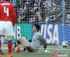 图文:阿根廷VS韩国 郑成龙无奈