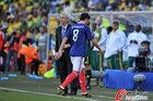 图文:法国1-2南非 古尔库夫与多帅