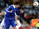 图文:希腊0-2阿根廷 米利托飞顶