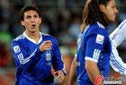 图文:希腊0-2阿根廷 布尔迪索兴奋