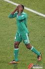 图文:希腊2-1尼日利亚 奥巴西很失望
