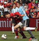 图文:阿根廷VS韩国 迪马利亚死守