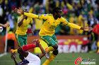 图文:法国1-2南非 库马洛立功