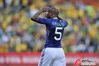 图文:法国1-2南非 加拉抱头失望