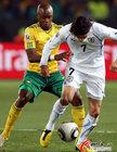 图文:南非0-3乌拉圭 卡瓦尼被拉