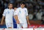 图文:希腊VS阿根廷 齐奥里斯失落