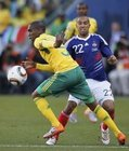 图文:法国VS南非 克利希盯防对手