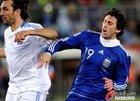 图文:希腊0-2阿根廷 米利托没有进球