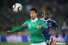 图文:法国0-2墨西哥 贝拉无惧萨尼亚
