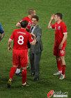 图文:斯洛文尼亚0-1英格兰 卡佩罗与兰帕德