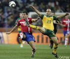 图文:澳大利亚VS塞尔维亚 布雷西亚诺拼抢
