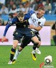 图文:德国4-0澳大利亚 埃默顿被纠缠