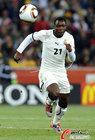 图文:加纳0-1德国 阿萨莫阿前进