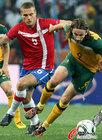 图文:澳大利亚VS塞尔维亚 肯尼迪飞奔