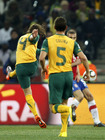 塞尔维亚1-2负回放 霍尔曼进球庆祝