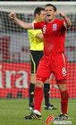 图文:斯洛文尼亚0-1英格兰 兰帕德兴奋