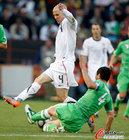 美国1-0胜全程回放 飞铲布拉德利