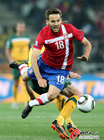 图文:澳大利亚VS塞尔维亚 球员被放到