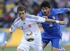 图文:斯洛伐克3-2意大利 加图索紧追对手