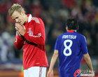 图文:丹麦1-3日本 失误太多