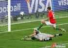 图文:葡萄牙0-0巴西 射门瞬间