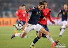 图文:智利VS西班牙 托雷斯突破