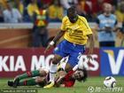 图文:葡萄牙0-0巴西 蒂亚戈痛苦倒地
