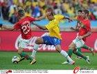 图文:葡萄牙0-0巴西 法比亚诺突破